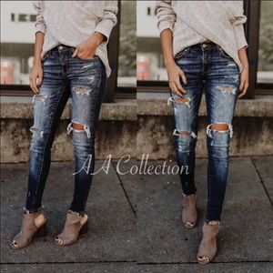 431ab2e12062a Denim - Distressed jeans ripped skinnies 0 -15